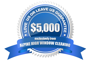 alpine high window cleaning guarantee