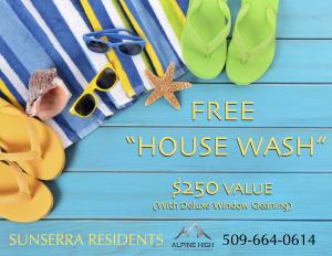 Sunserra Residents Free House Wash