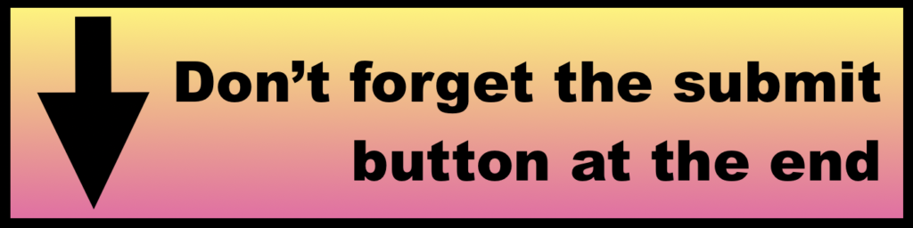 Pink Yellow arrow down button